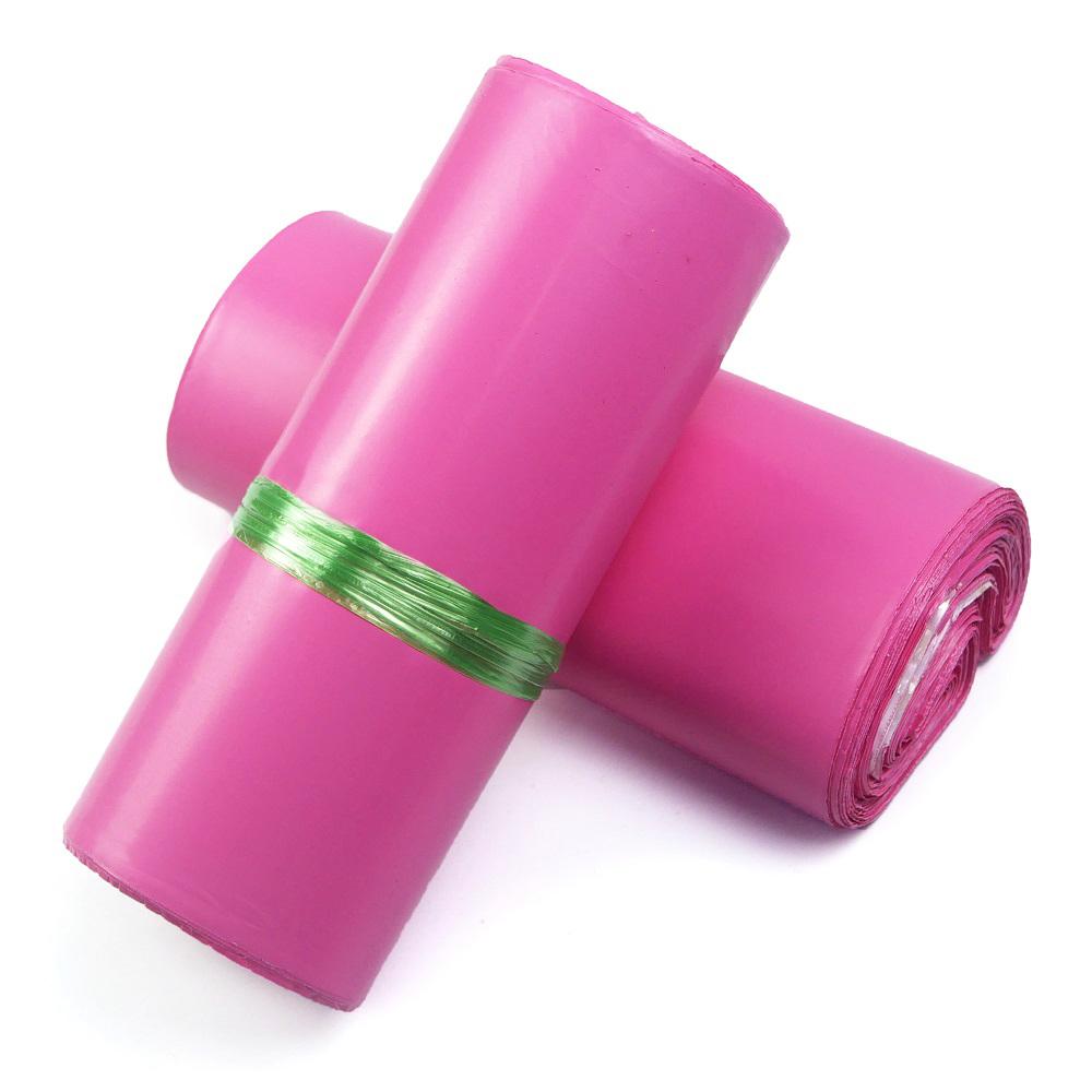 túi gói hàng túi niêm phong hồng cao cáp